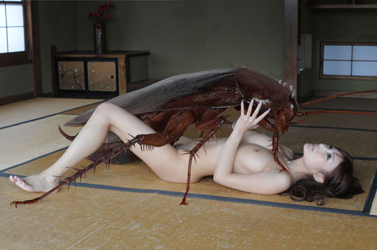 aida makoto cockroach sex japan art