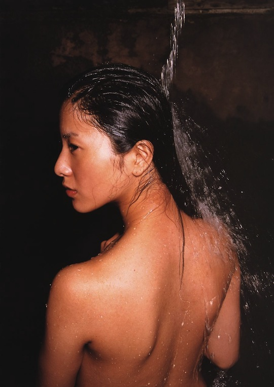 yuriko yoshitaka japanese actress cute hot sex scene snakes and earrings naked nude