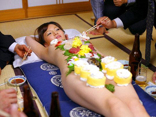 Japanese Erotic Sushi Girls