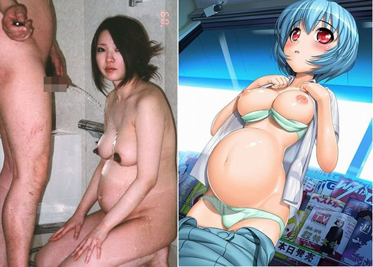 Pregnant sexy Japanese celebrities doing nude shoots has also become popular ...