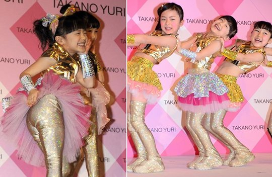 ashida mana chan takano yuri ad kara dance child