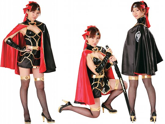 japan ninja girl sexy reki-jo historical cosplay costume