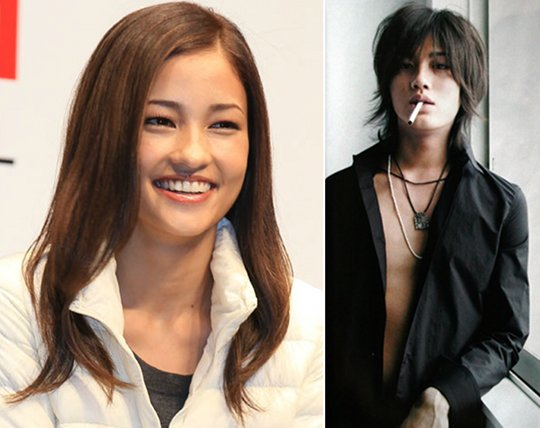 meisa kuroki sexy japanese model marries jin akanishi dekikon