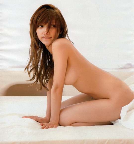 maki goto naked sexy japan