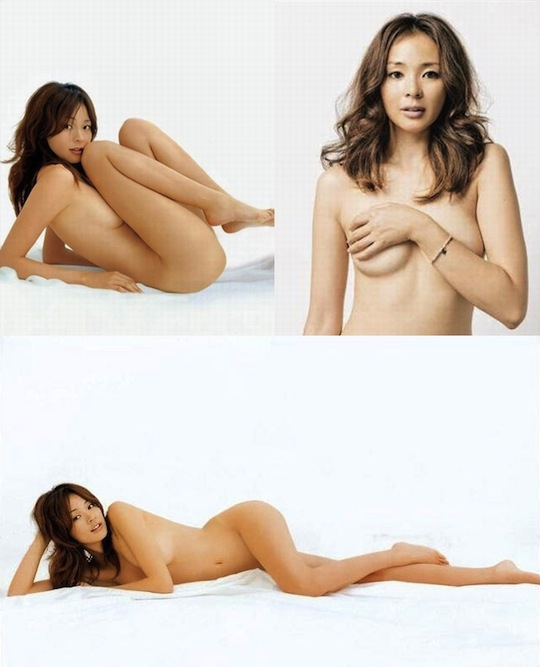 shiho nude naked sexy model japan