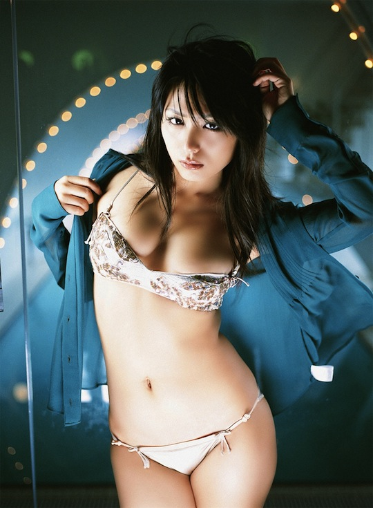 yukie kawamura 川村ゆきえ hot japanese girl model sexy