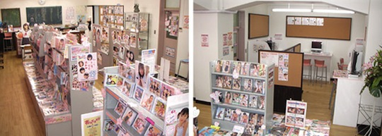 japan lolicon shop junior idol store