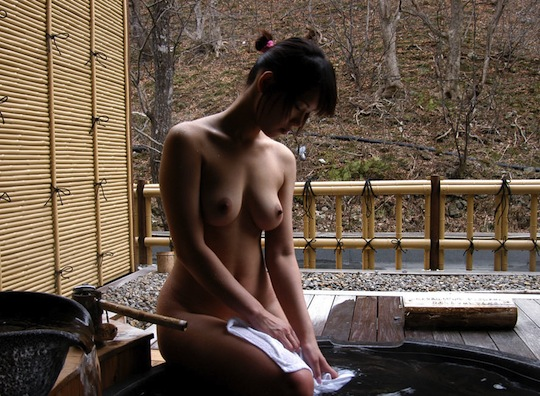 Means Japanese hot springs naked girls consider
