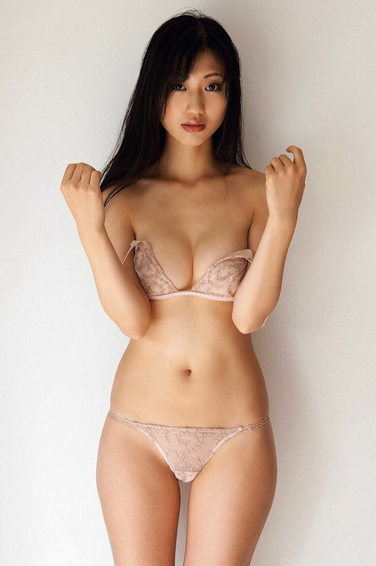 Erotic japanese model