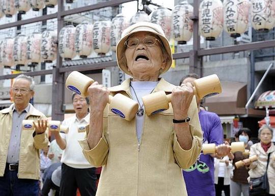 japan senior aging society
