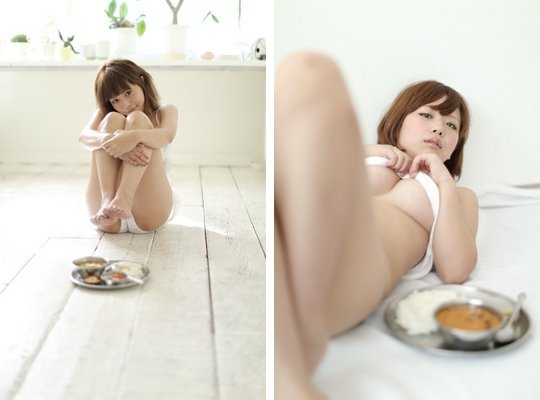 japan curry semi nude sexy calendar buttah restaurant
