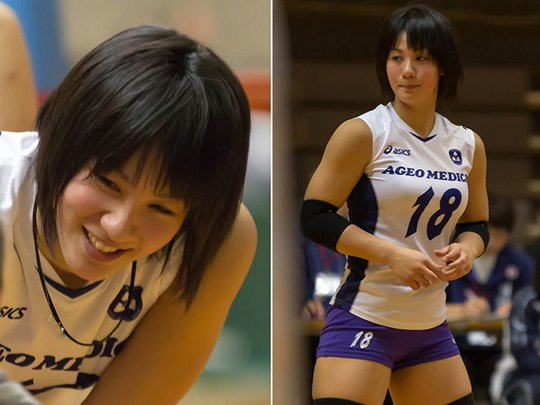 Japans Female Volleyball Sports Players Are Too Hot To -1908