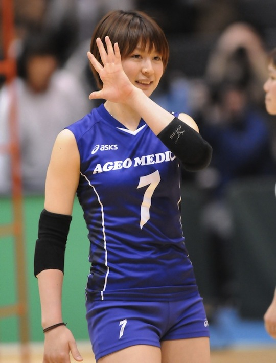 japan volley ball player women girl sexy cute