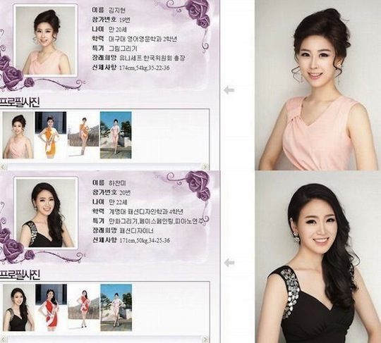 miss korea 2013 entry look same plastic surgery