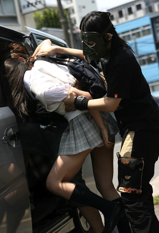 japan high school girl student kidnap