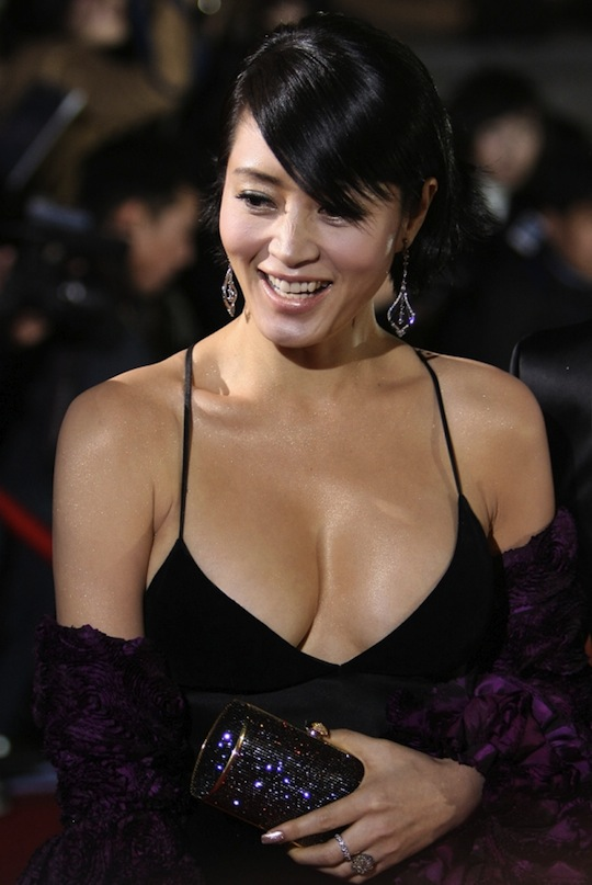 Korean big boobs celebrity