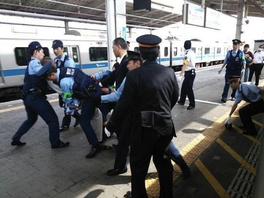 Chikan train