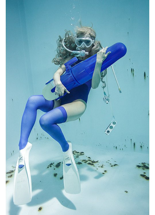underwater knee high girls manabu koga sexy cosplay swim