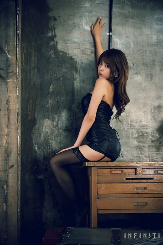 heo yun mi hot korean model girl