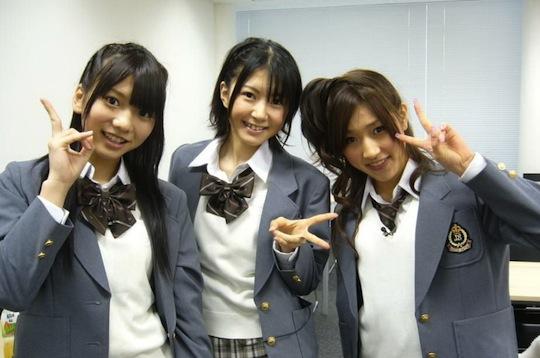 risa naruse akb48 haruna aisaka porn debut