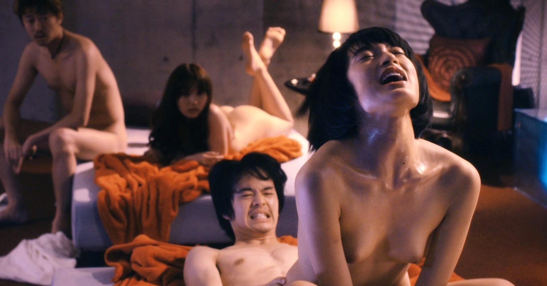 mugi kadowaki naked nude sex scene movie film ai no uzu love's whirlpool kabukicho japanese