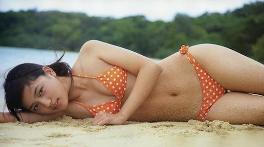 haruna kawaguchi cute sexy idol