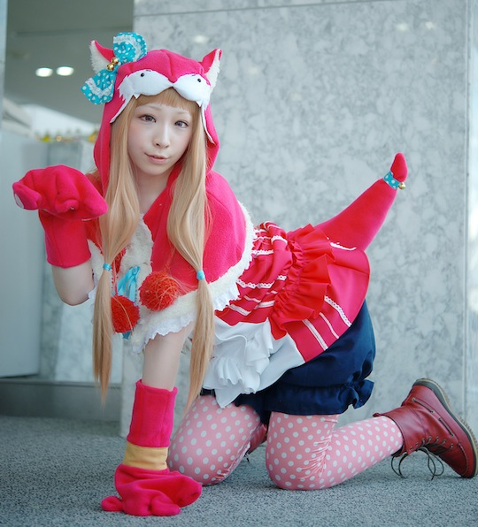 miiko cat girl cosplay paws neko