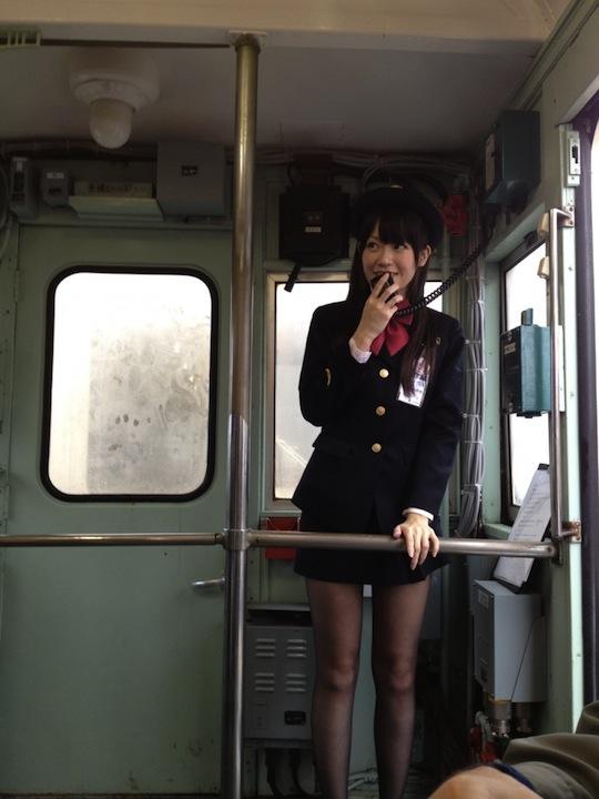 The train sex video