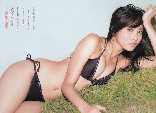 hinako sano gravure model japanese sexy hot cute body
