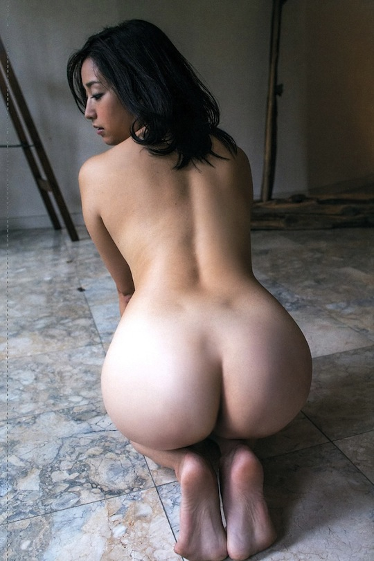 Beautiful female nude butts
