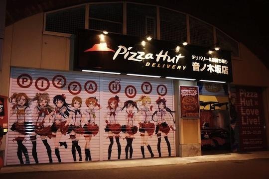 love live school idol project pizza hut otonokizaka
