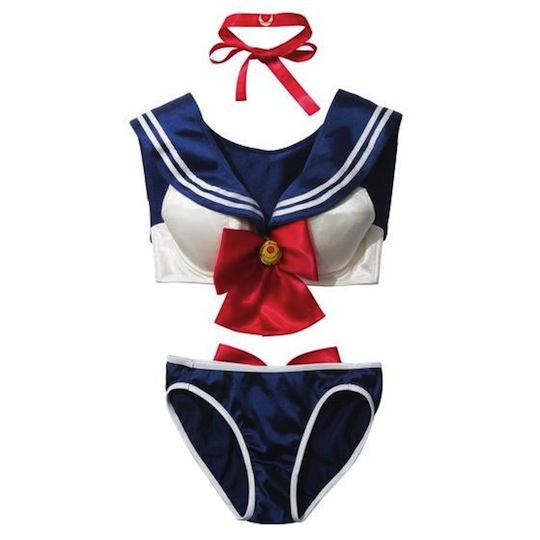 sailor moon peach john bandai underwear cosplay costume lingerie set