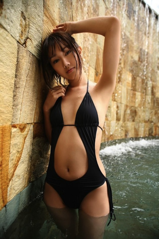 hanako takigawa japan gravure model hot sexy