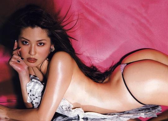 haruna yabuki mari abe model japanese sexy hot