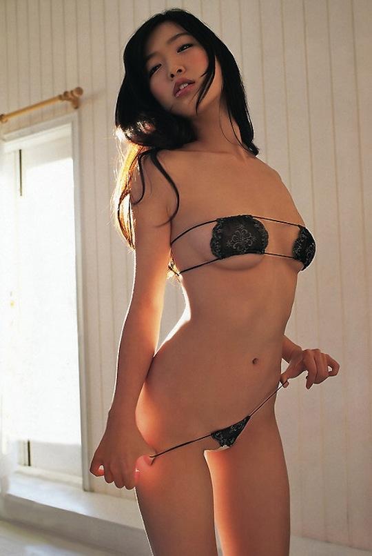 kokone sasaki sexy hot body panties lingerie strip naked