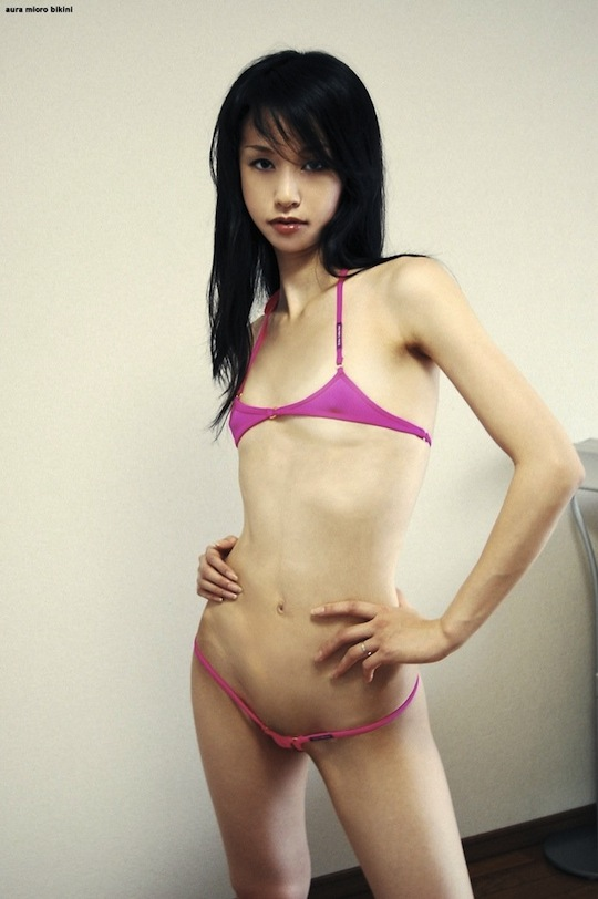 Pity, that Nude flat chest japanese girl here