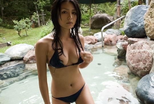 yukie kawamura onsen hot spring resort japan sexy hot girl