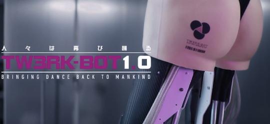 basement jaxx never say never ft erml japan scientists tw3rk bot robotic butt ass twerk future music video