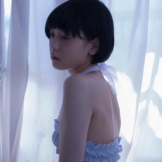 feast gomi hayakawa japanese lingerie underwear flat chest small breasts bust tsurupeta hinnyu