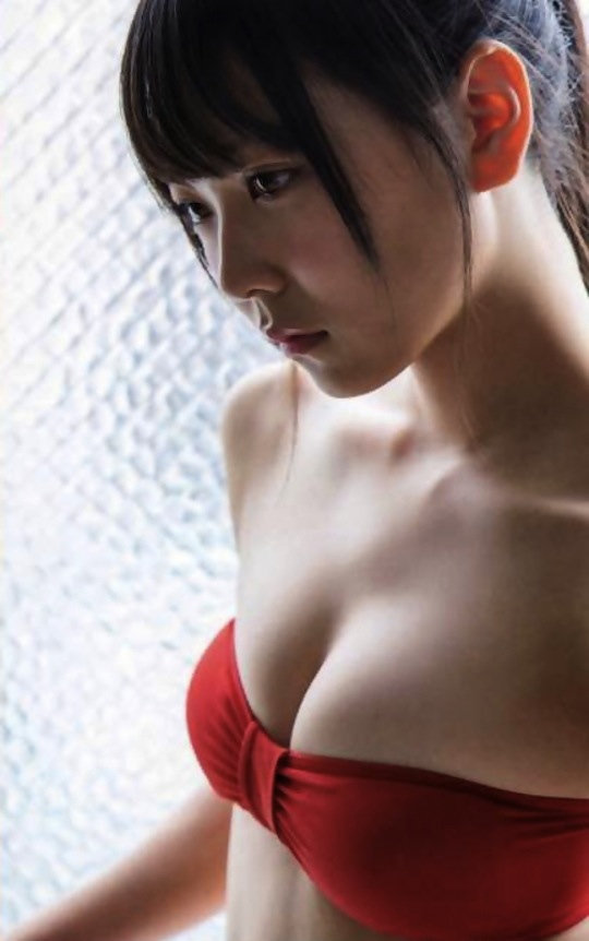 miru shiroma nmb48 bust breasts