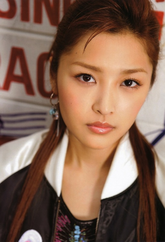 rika ishikawa brown hair japanese morning musume singer idol
