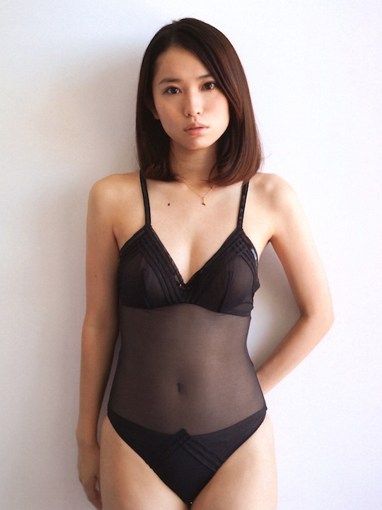 Japanese actress naked pic fill blank?