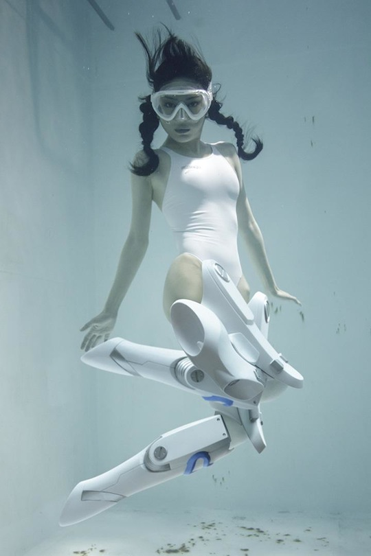 suichu niso underwater knee high socks cosplay diving fetish photography manabu koga japanese girls manami yamaguchi