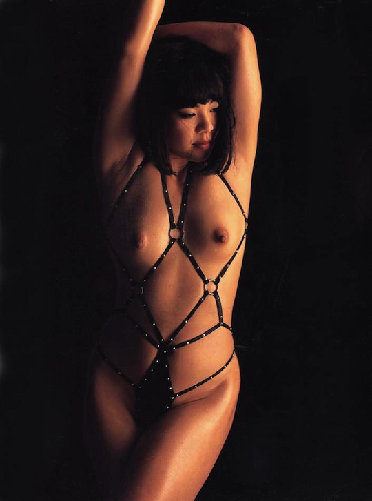 japanese wrestler female idol nude naked sexy photo gravure full frontal sexy