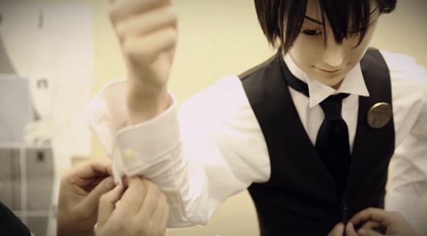 kabe don cafe morinaga tokyo harajuku wall doll sex puppet mannequin waiter