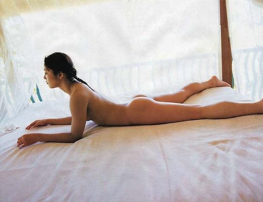 kayo noumi japanese wrestler female idol nude naked sexy photo gravure full frontal sexy