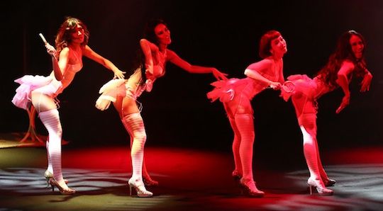 ravijour japanese lingerie brand sexy hot fashion show roppongi tokyo ellie rose