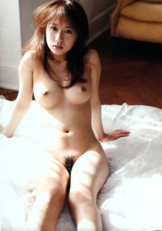 rio matsushita japanese sexy gravure idol model naked body hot hair nude photo