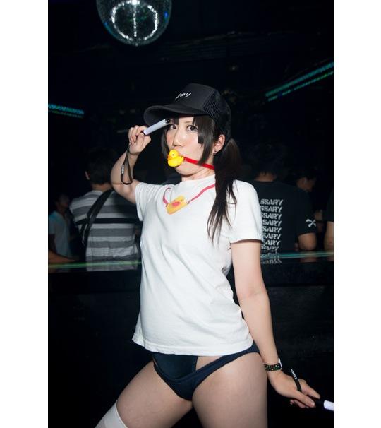 shinjuku fetish night bondage bdsm shibari rope erotic event photo images cosplay