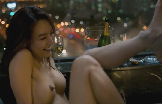 korean sexy girl in sex scene